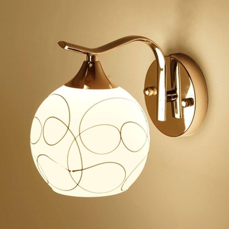 壁灯床头灯墙壁卧室简约现代创意欧式美式客厅led楼梯过道灯具多功能