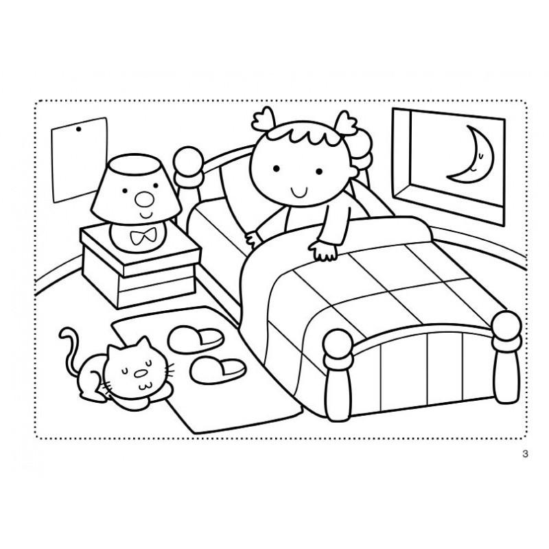 新品baby喜羊羊一起玩涂色书 音乐宝宝 10选1 简笔画