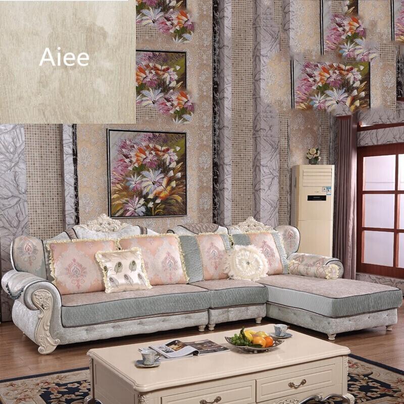 aiee欧式沙发布艺转角简欧组合小户型可拆洗整装布贵妃大客厅家具1 2图片