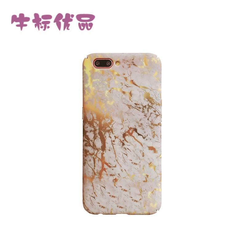 牛标优品ins大理石纹oppor11手机壳r9plus全包硬壳oppor9s创意男女款