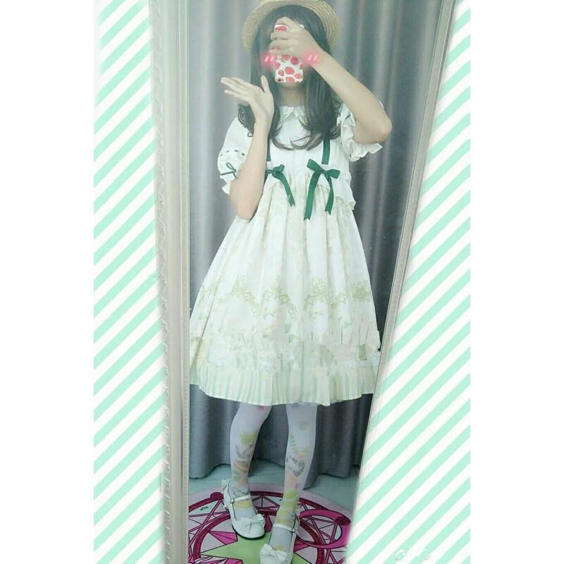 夏公主洛丽塔ita洋装op连衣裙jsk日常可爱甜美日系软妹学院风l5 s
