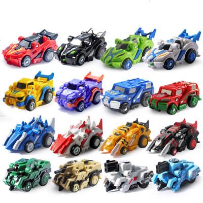 跳跃战士_跳跃战士玩具变形战车魔幻车神4机器人玩具男孩烈火骑士飞车