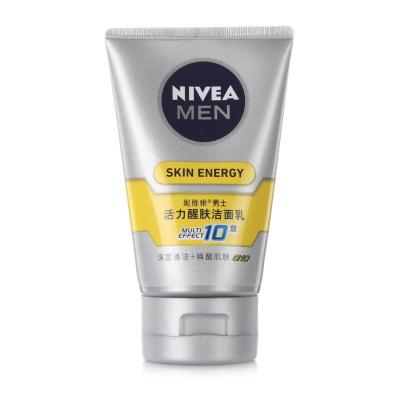 NIVEA 妮维雅 Q10 活力醒肤洁面乳 100g 19.9元包邮的图片