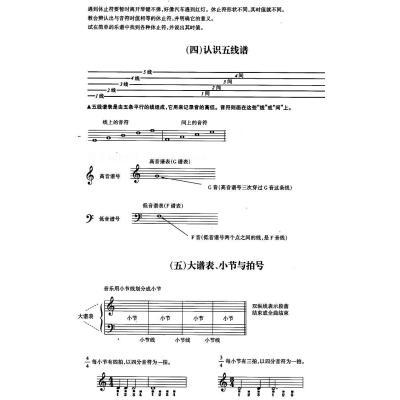新编钢琴入门与进阶(上下)图片