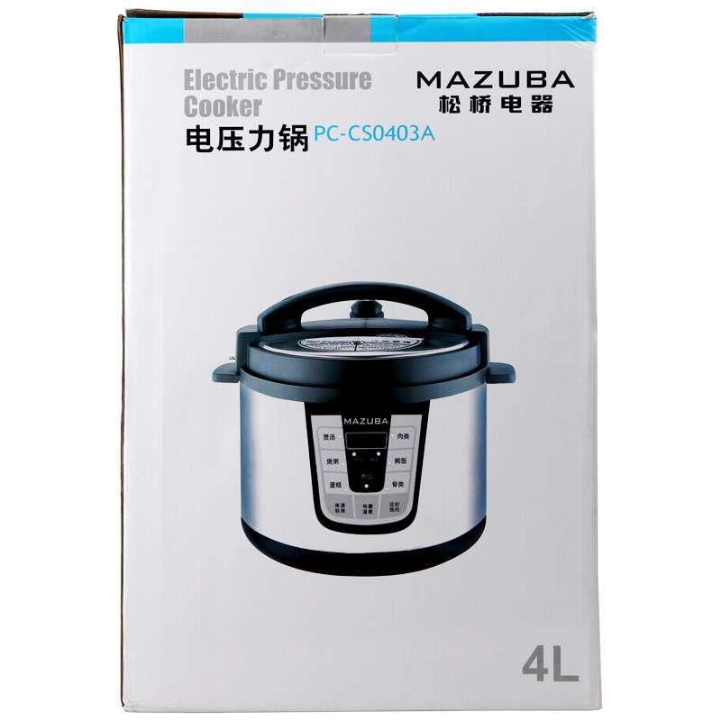 松桥电压力锅pc-cs0403a【报价