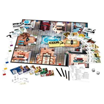 变形金刚大件塑料 纸板游戏套装(clue)h40613 (商品编号:102310969)