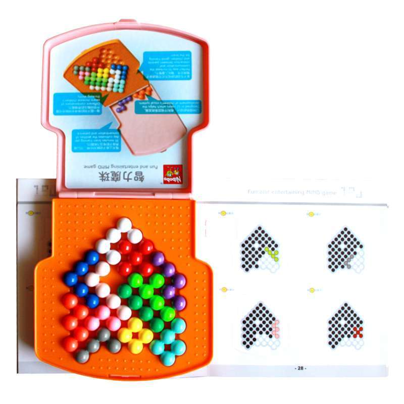 nibobo智力魔珠智慧金字塔-100011-1(单盒装)【报价