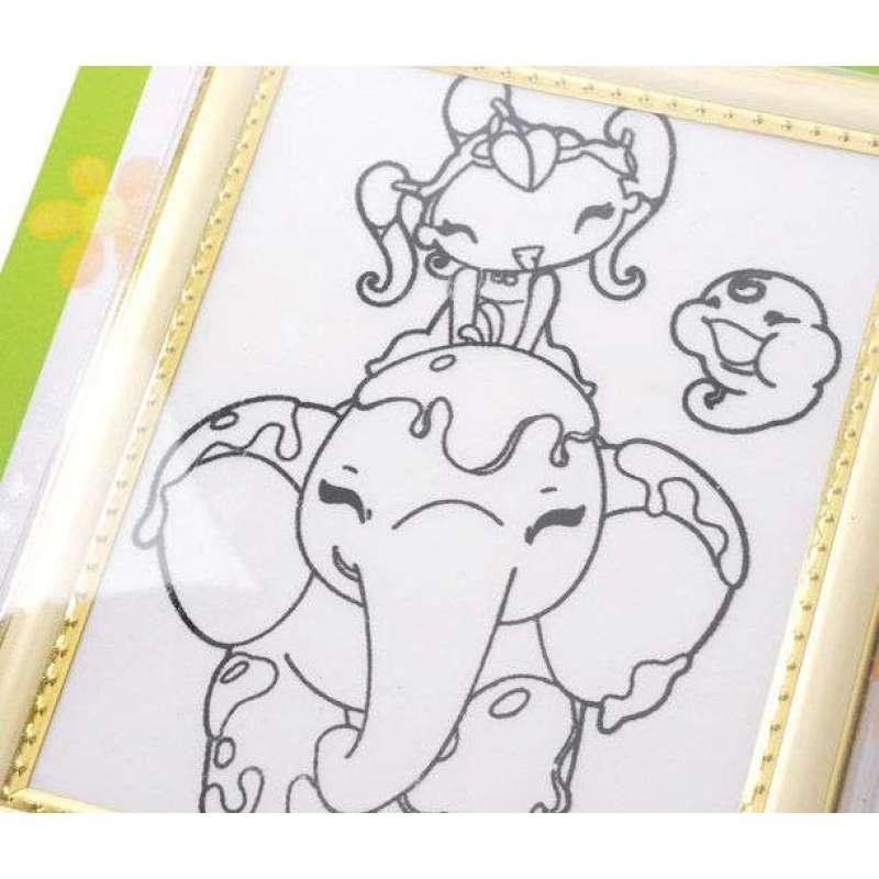 儿童画 简笔画 手绘 线稿 612_520