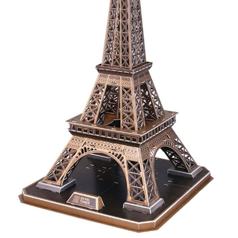 立体巴黎铁塔简笔画