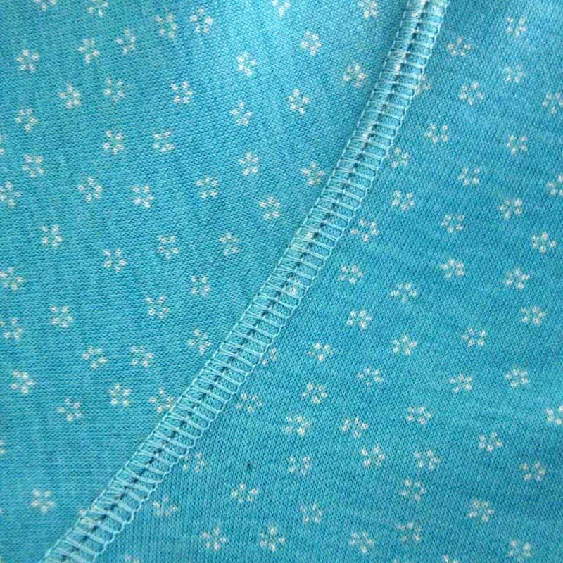 相思鸟糖果色印花保暖内衣套装海蓝(160)12265【报价