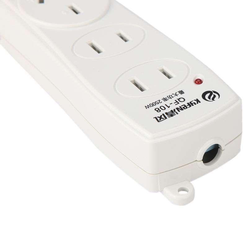 清风三位无开关 无线接线板/插座/电源转换器qf-108