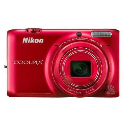 尼康数码相机s6500(红)