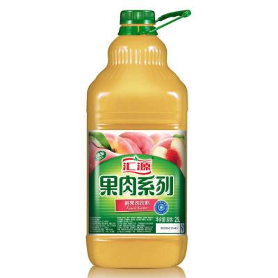 汇源PET桶装系列桃果肉2.5L