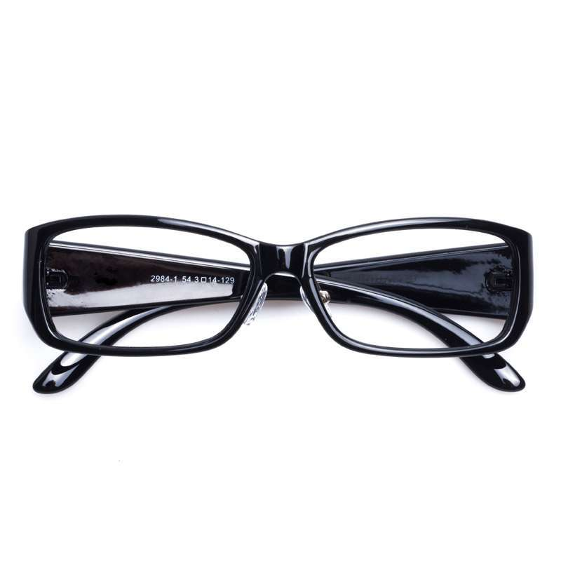 音米女款时尚复古花纹眼镜框