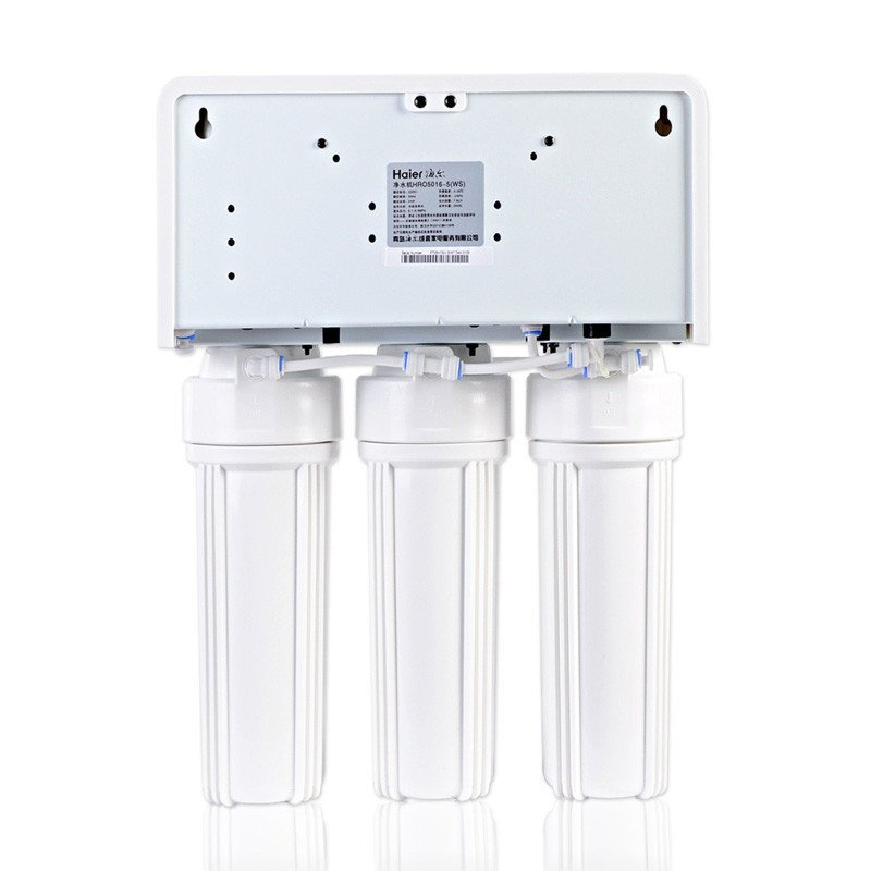 不限地区:Haier海尔 HRO5016-5(WS) RO反渗透净水器 直饮机¥899