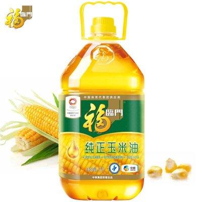 福临门 黄金产地玉米油 4L ¥45.5