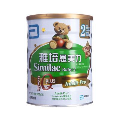 港版 雅培Abbott恩美力较大婴儿配方奶粉2段900g罐装¥159