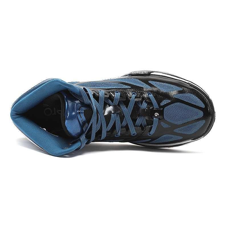 Adidas 阿迪达斯男唯快不破系列鞋篮球鞋G99141 蓝黑白 43.5码 篮