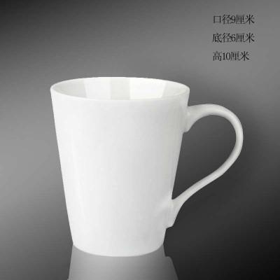 陶瓷纯白水杯 (商品编号:104790282)