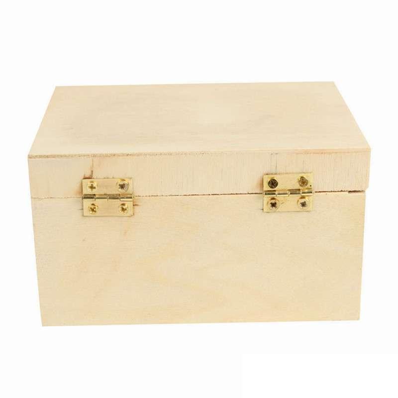 白坯上色 手绘首饰盒