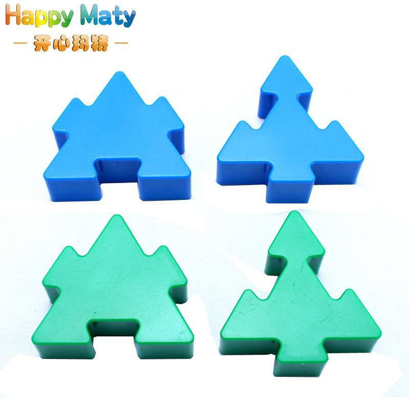 开心玛特 乐高巧力功拼图积木 塑料拼插拼装积木宝宝益智塑料玩具