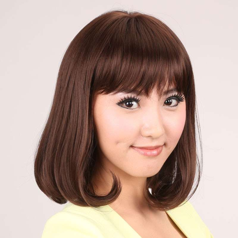 齐肩的内扣短发梨花头发型_发型设计图片图片
