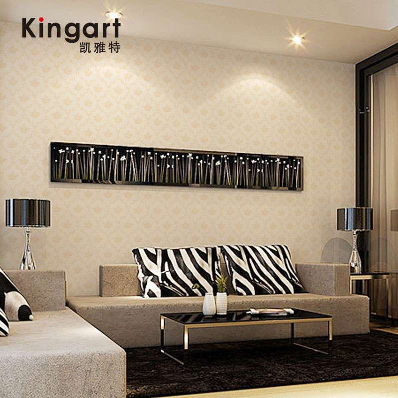 凯雅特壁纸经典欧式pvc墙纸客厅电视卧室床头背景