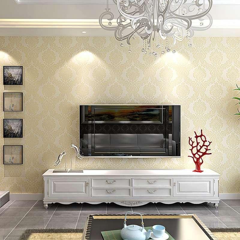 大马士革欧式客厅卧室电视背景墙a-0004壁纸