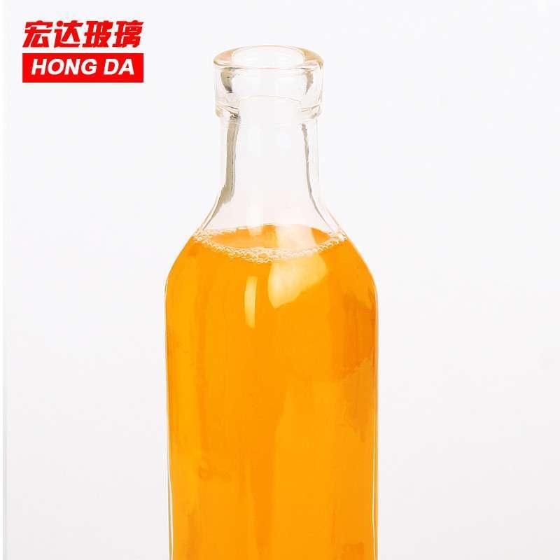 油壶组两件套宏达无铅玻璃瓶 酱油醋油瓶厨房用品 密封罐包邮