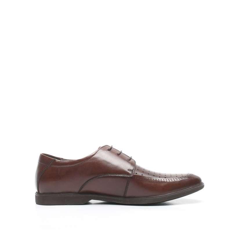senda/森达夏季小牛皮男单鞋726ddbk2婚鞋系列 棕色 43码