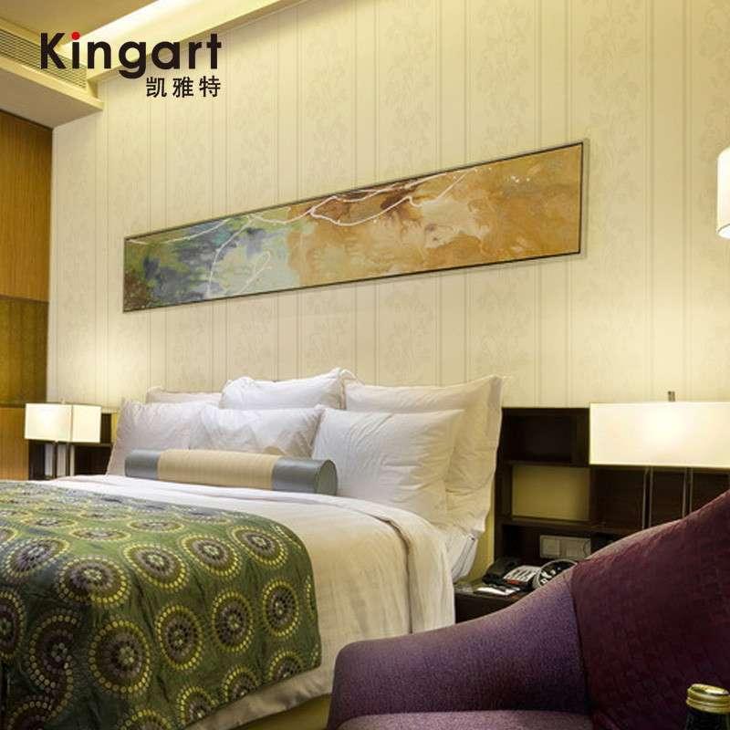 【凯雅特墙纸】凯雅特壁纸欧式古典竖条纹卧室客厅墙