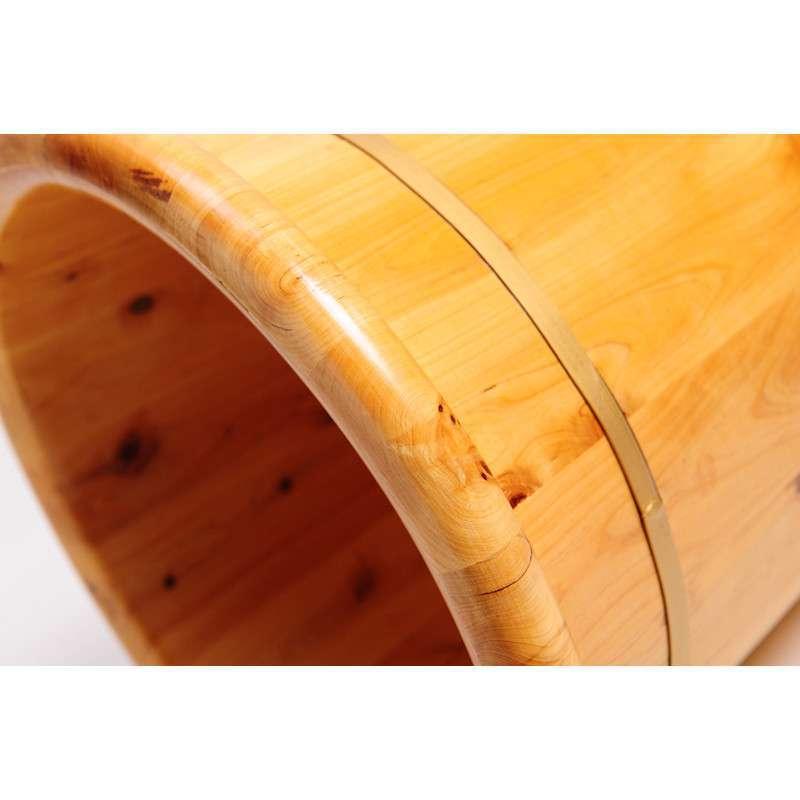 做一个圆柱形无盖木桶