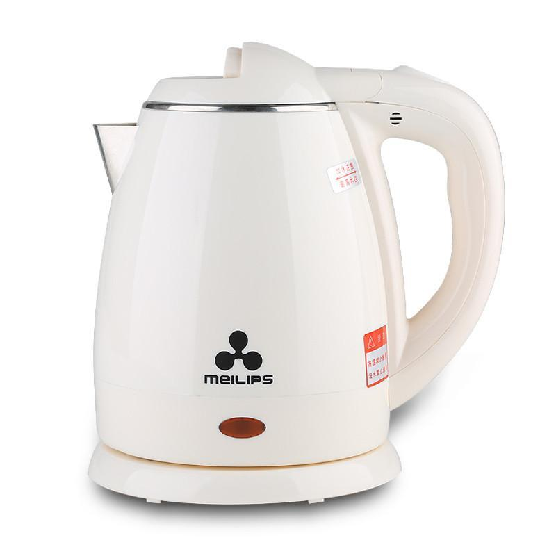 微电脑电热水瓶ke-a221 电热水壶2200ml 国产 w白色 京东第三方 奇家