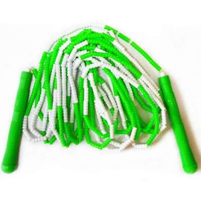 龙花专业正品珠节 团体跳绳605e 竹节交互绳 龙花花式图片