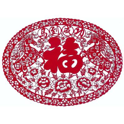 门贴对福字无框壁画对联春节猴-苏宁电器网上商城