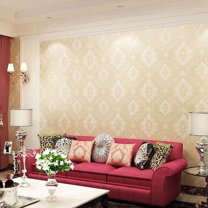 复古古典欧式高档奢华环保无纺布客厅卧室