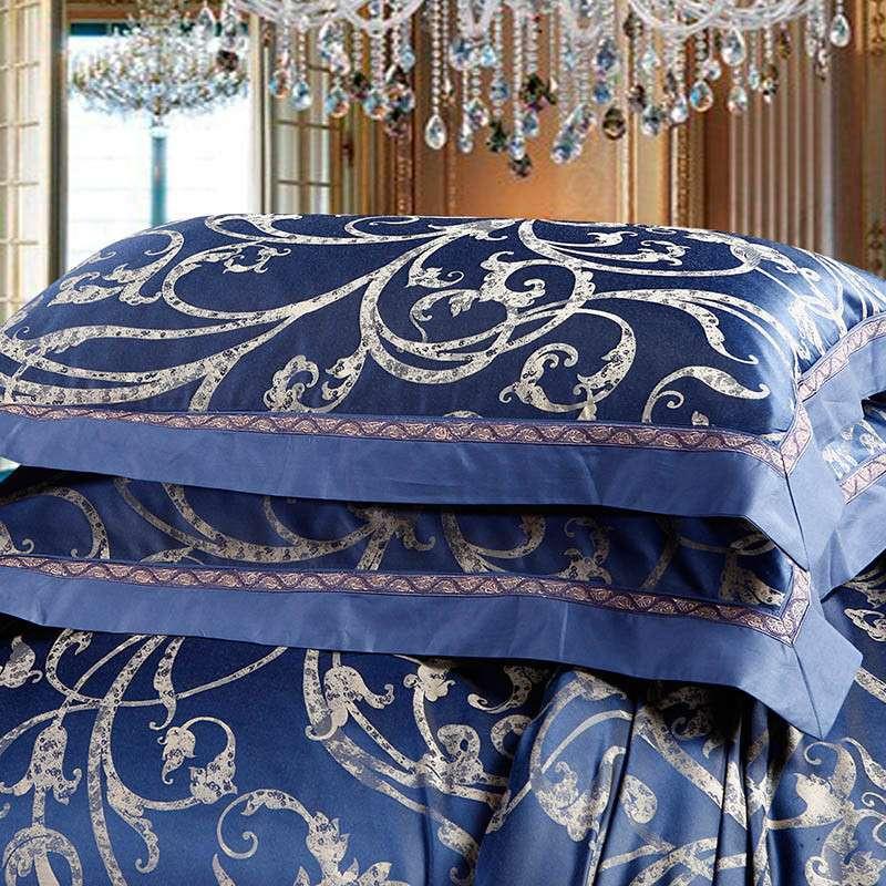 莱芙家纺欧式浅蓝色图片