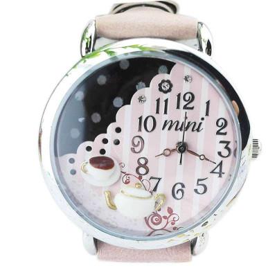 韩国mini手工立体软陶卡通女士手表 可爱时尚水钻女表