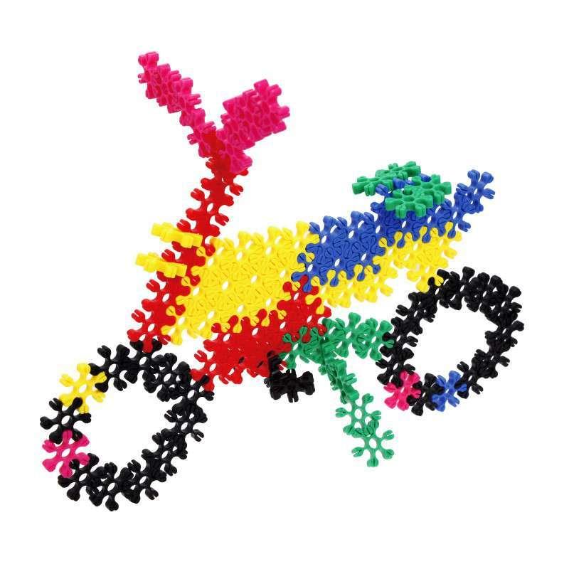 大圣玩具 亲子幼教益智玩具 雪花片 梅花片儿童拼装积木 拼插玩具图片
