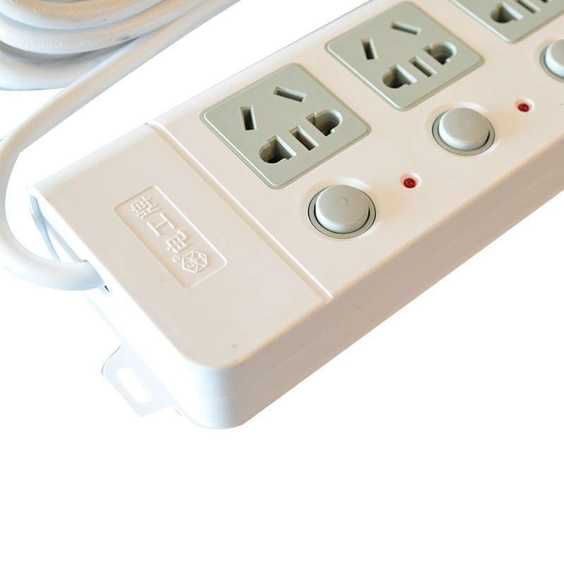 电工牌 一开一控 电源插座接线板 插线板 拖线板插排 zdzm-2105 4.
