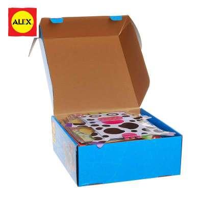 美国alexdiy手工盒纸制手工制作玩具益智玩具早教