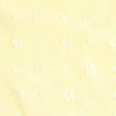 [清一丽]童装春夏款新款女童纯棉无袖t恤可爱公主风wg7710 黄色 100c