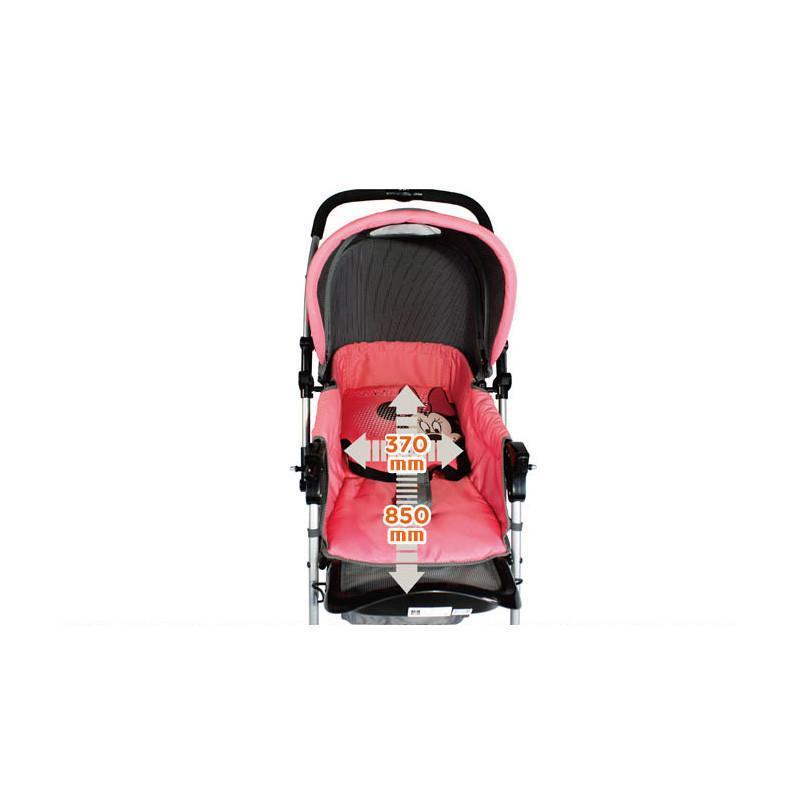 婴儿推车半蓬双向轻便折叠可平躺四轮儿童车