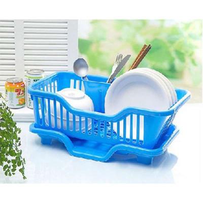家英滴水碗盆收纳架/沥水碗架碗盘置物架收纳吸管粗奶茶包装独立图片