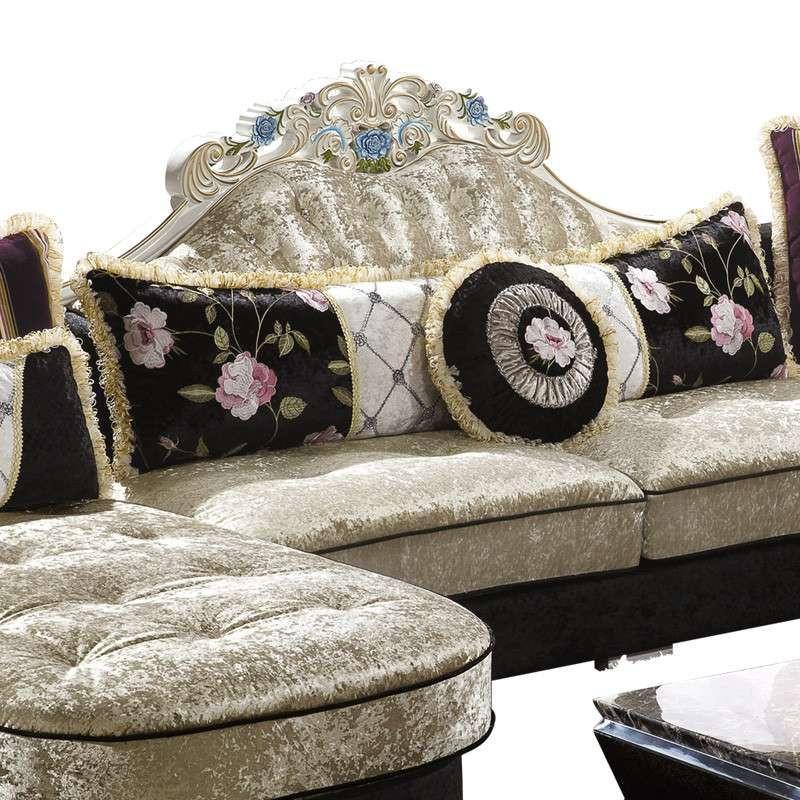 欧式新古典沙发后现代大户型布艺沙发
