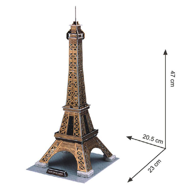 埃菲尔铁塔清晰立体图片