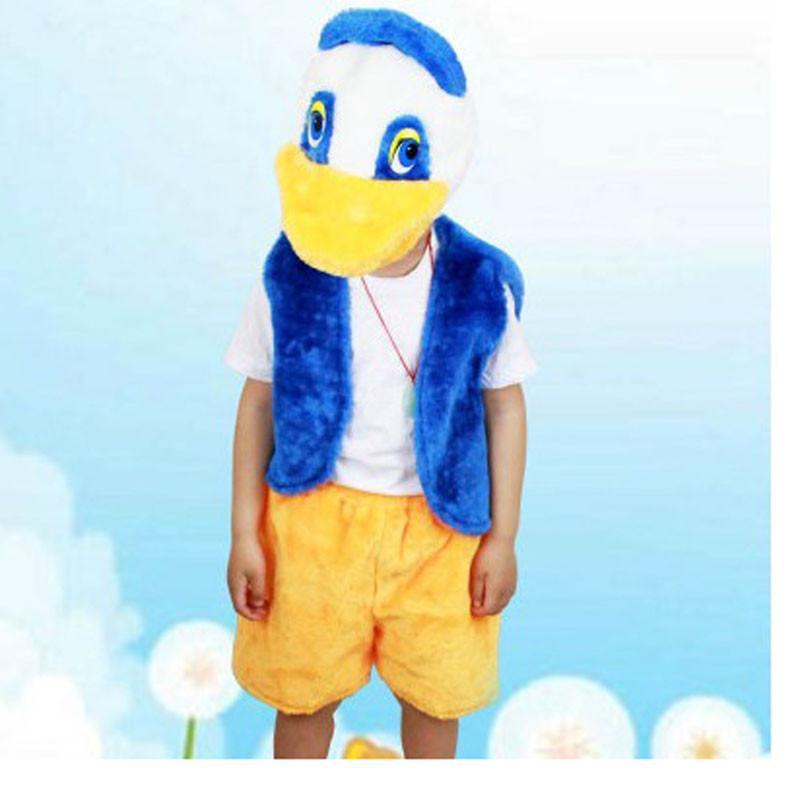 六一儿童节动物服装 动物表演服饰 质量超好 鸭子衣服 鸭子装扮 大号