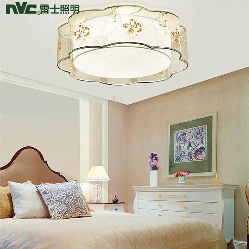 雷士照明led卧室灯 简约吸顶灯/客厅书房灯饰灯具