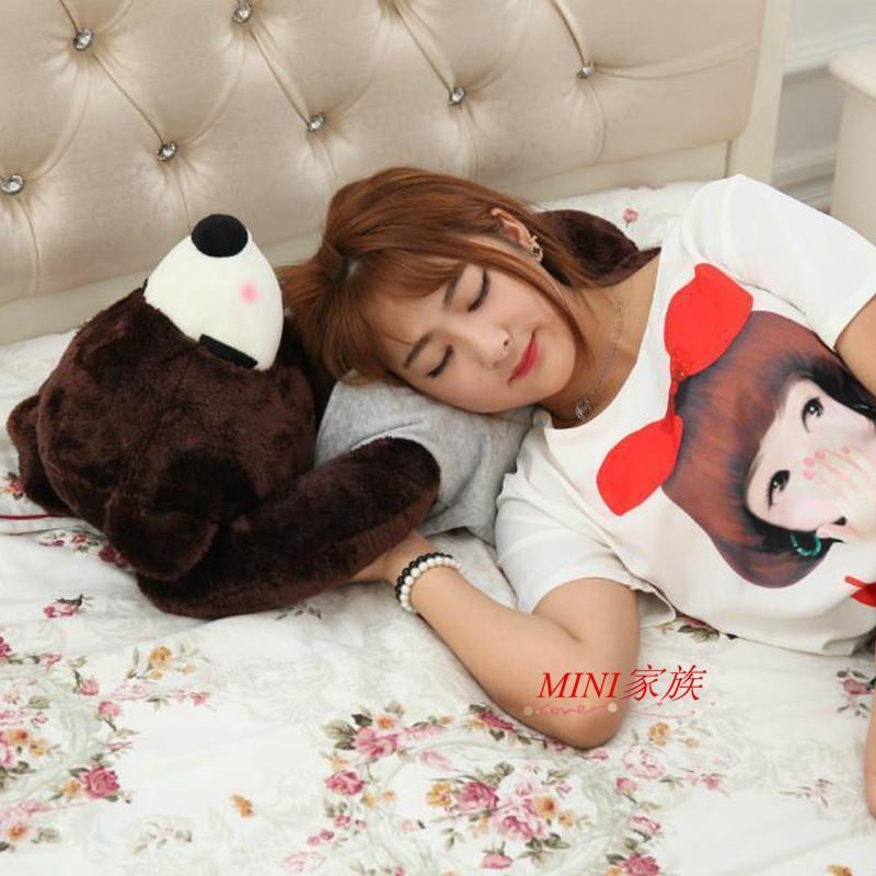 【翔鸣玩具】可爱小熊大号布娃娃卡通音乐熊送女生