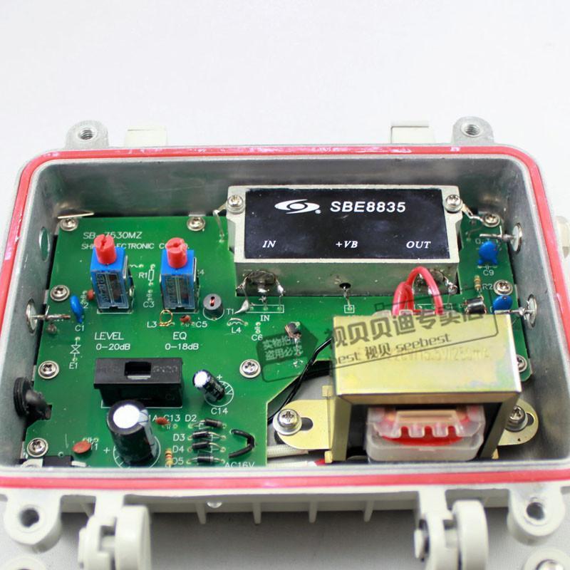 楼宇catv大功率电视信号放大器